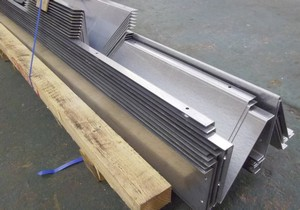 Cold Room Bumper Rails Wyvern Sheet Metal Amp Fabrications Ltd